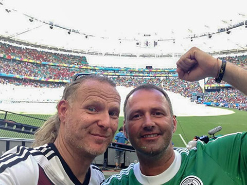 Sven Luca (links) mit Freund