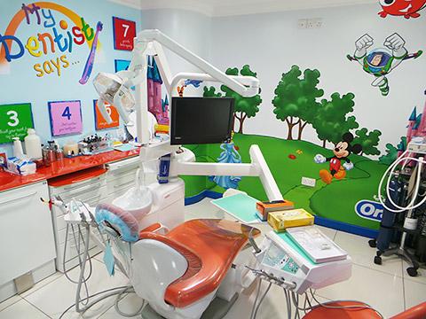 Kinderbehandlungsraum