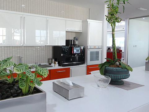 Kaffee-Ecke im Office