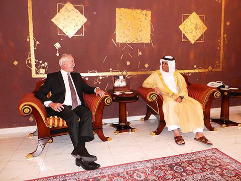 Audienz bei HH Sheikh Saud