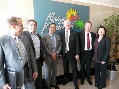 Bei der RAK Tourism Development Authority
