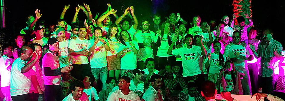 Die Farewell-Alex-Party