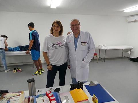 Jean-Marc Gauer und Sue Aiken