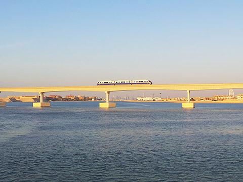 Brücke mit Monarail