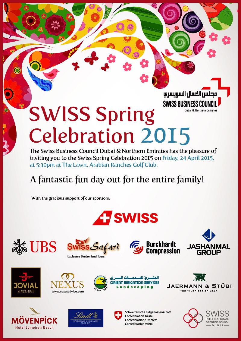 Einladung Swiss Spring Celebration (Seite 1)