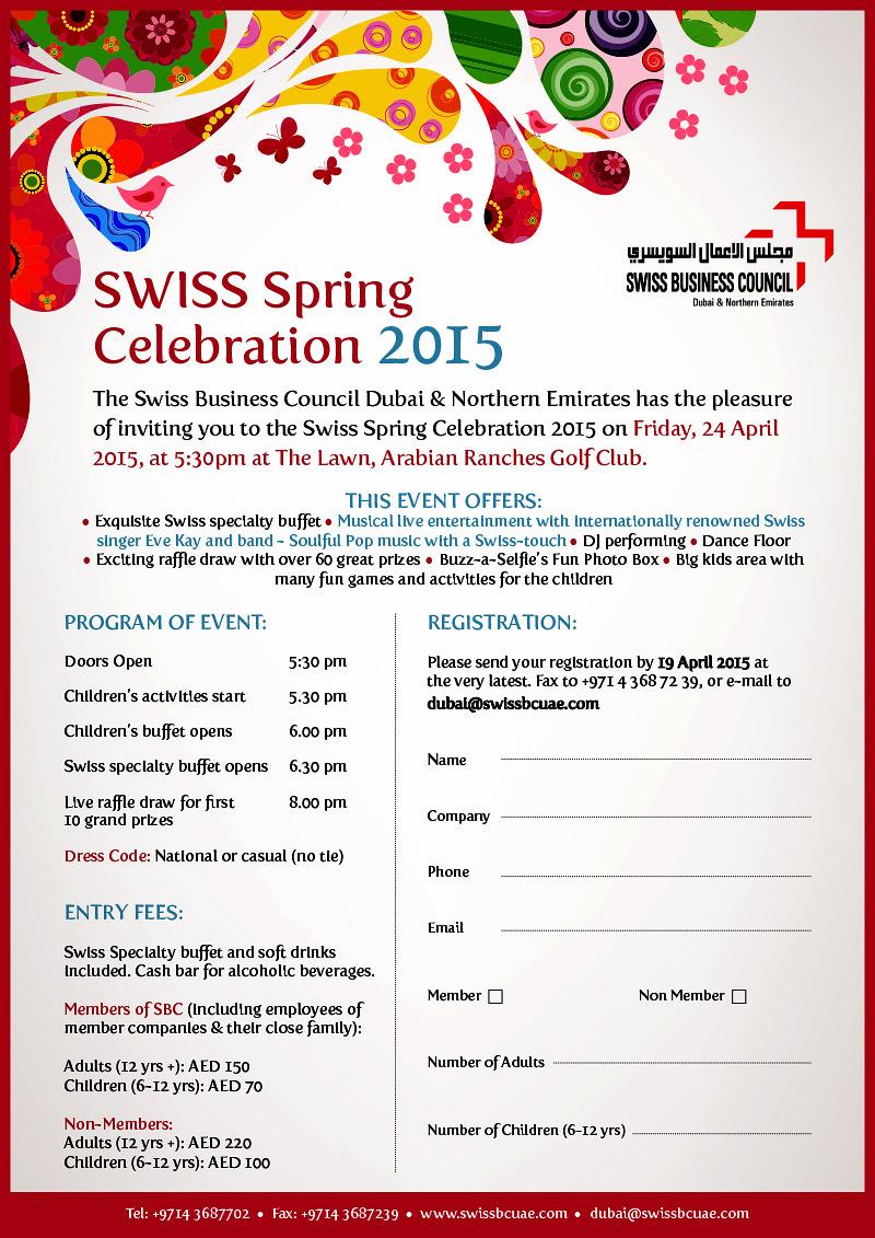 Einladung Swiss Spring Celebration (Seite 2)