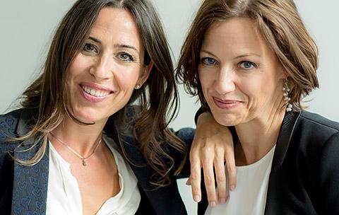 Monika Mascaros und Andrea Werner