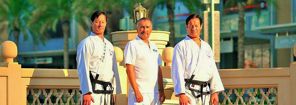 Taekwondo-Großmeister in Dubai