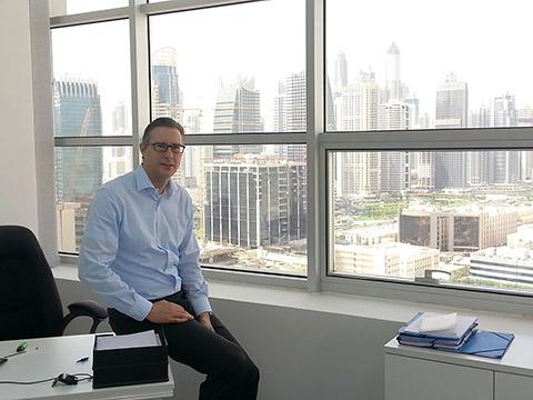 Ralf Löbker in Dubai