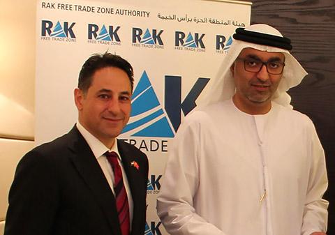 Ramy Jallad mit HH Scheich Ahmad