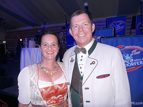 Richard Bandera und Frau