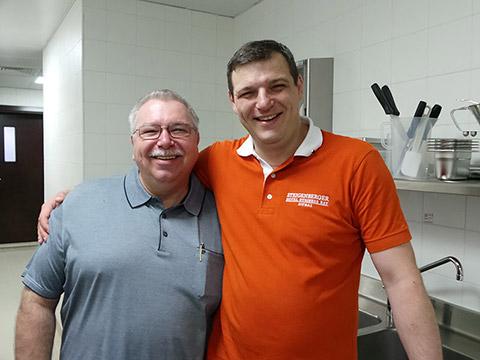 Executive Pastry Chef und Executive Chef