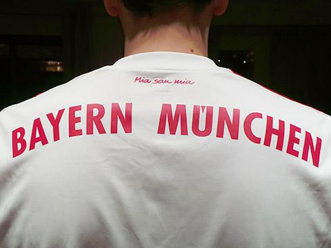 Bayern-Shirt hinten