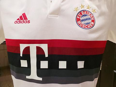 Bayern-Shirt vorne