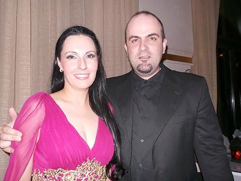 Maria Glück mit Dr. Jordan Rashkov