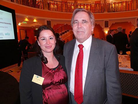 Daniela Calligaro und Dr. Peter Göpfrich