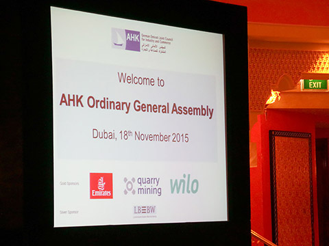 Ordentliche Generalversammlung der AHK