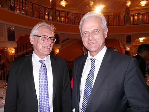 Dr. Eckhard Lübkemeier und Dr. Peter Ramsauer