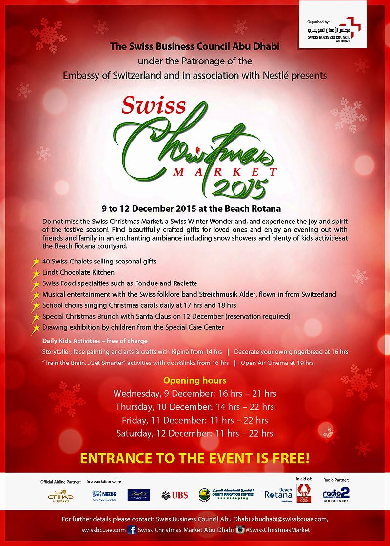 Swiss Christmas Market 2015