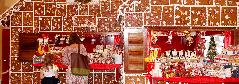 Swiss Christmas Market 2015 in Abu Dhabi