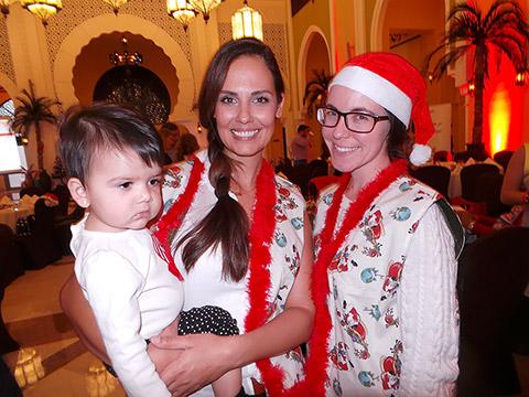 Myriam Phillips El-Rai mit Michelle Gebert