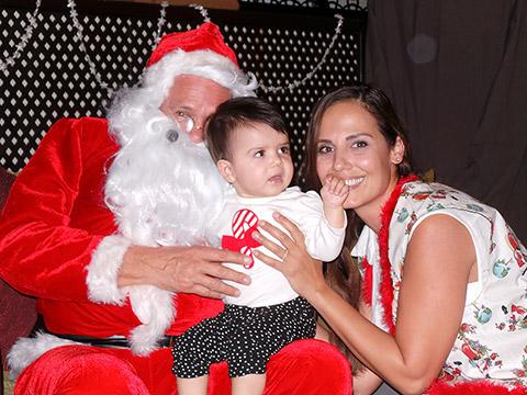 Siena mit dem Weihnachtsmann