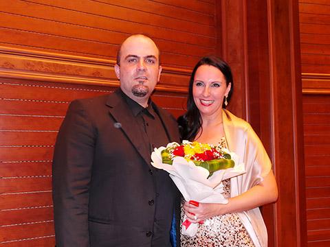 Maria Glück und Dr. Jordan Rashkov