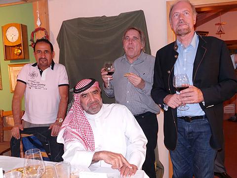 Dr. Peter Göpfrich mit Moritz Kerler und Freunden