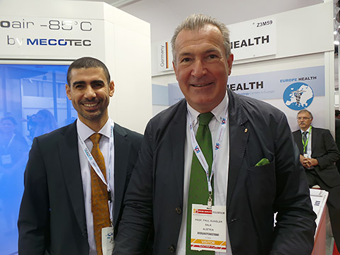 Dr. Mohamed Moursy und Dr. Paul Sungler