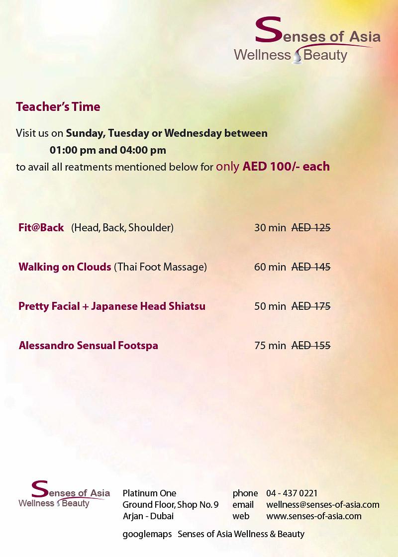 Teacher's Time