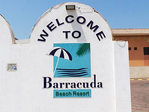 Eingang Barracuda