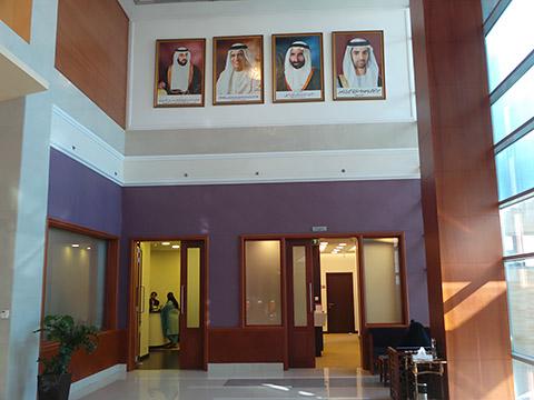 Eingang zum Frauenzentrum