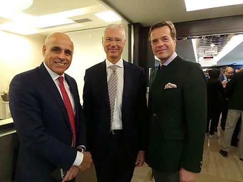 Dr. Yashar Ali, Peter Elsner-Mackay und Dr. Stephan Wagner