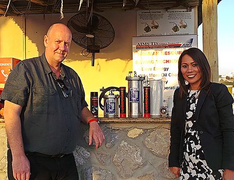 Guido Krahenhofer und Dina Pojas-Brigili