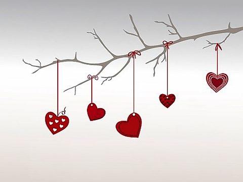 Valentins Herzen