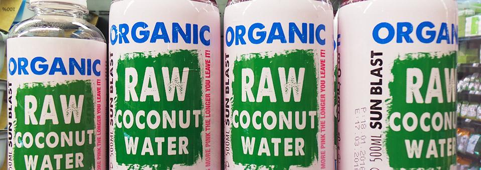 Raw Coconut Water – für Ihre Gesundheit
