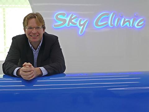 In der Sky Clinic JLT
