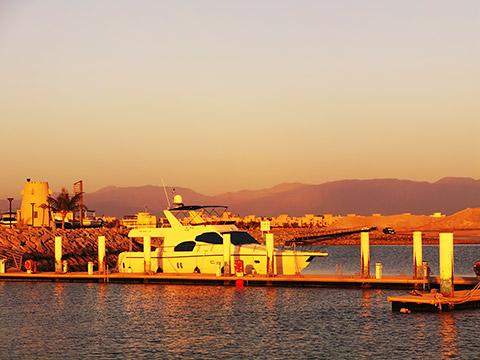 Abendstimmung in der Marina