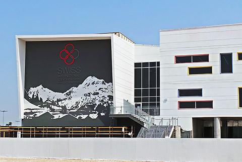 Gebäude der SISD