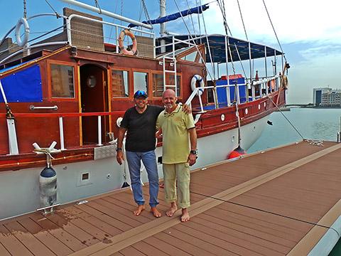 Kapitän JP und Kapitän Tony