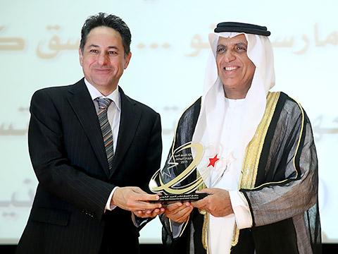 Rami Jallad mit HH Sheikh Saud bin Saqr Al Qasimi