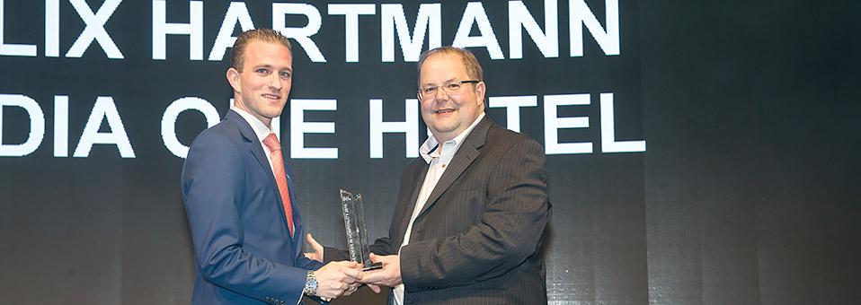 Der Award geht an – Felix Hartmann!