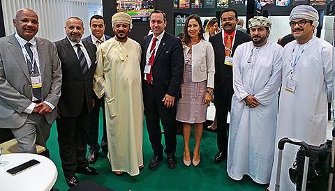 Delegationen Steigenberger und Al Sedra