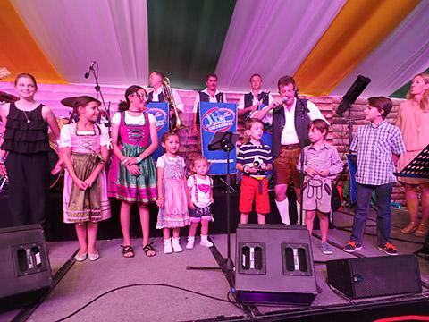 Bühnenspiel mit Kindern