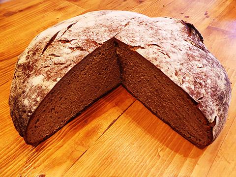 Großer Brotlaib