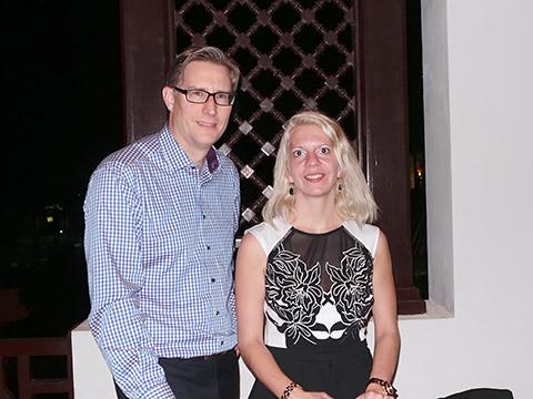 Ralf Löbker und Jana Krok