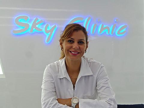 Begrüßung in der Dubai Sky Clinic