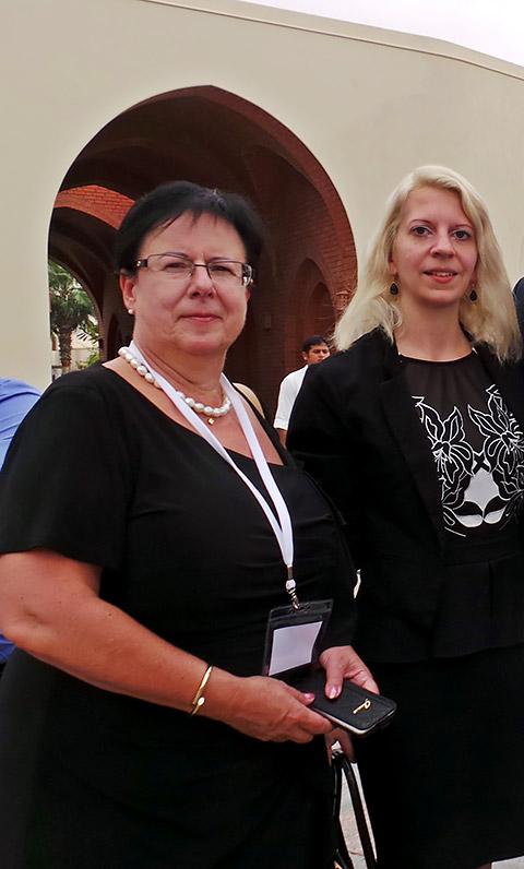 Jana Krok und Ursula Rimmele Konzelmann