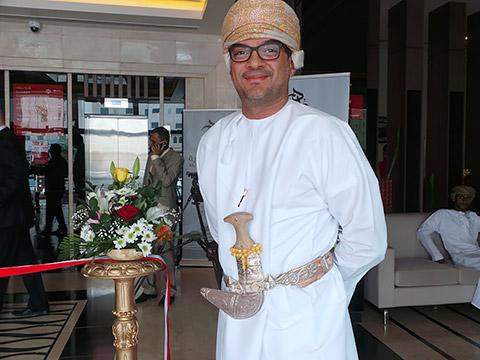 Omani mit Khanjar
