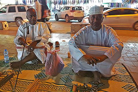 Omanische Männer